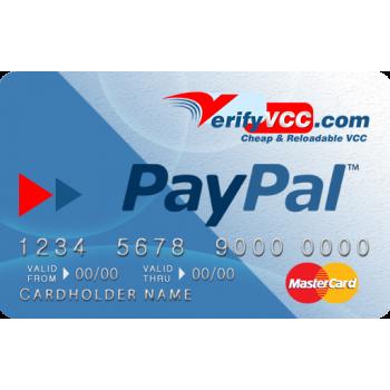 Paypal Vcc - Instant Verification