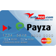 Payza VCC - Instant Verification